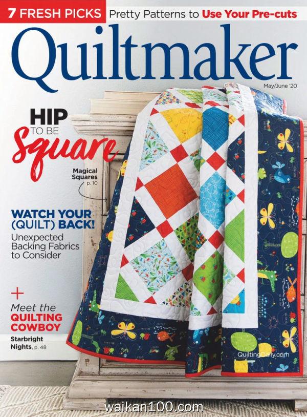 Quiltmaker 5月刊 2020年 [39MB]