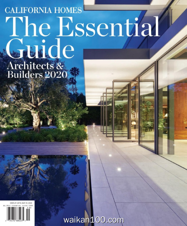 California Homes Essential Guide to Architects&Builders 2020年 [21MB]