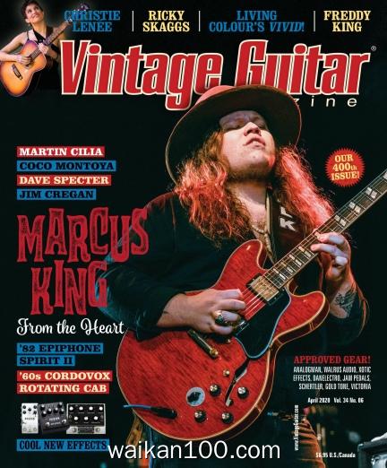 Vintage Guitar Arpil 2020年 [69MB]