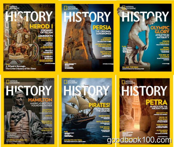 美国国家地理历史版_National Geographic History_2016年合集共6本PDF杂志电子版百度云下载