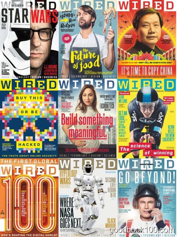 连线英国版_Wired UK_2016年合集共10本PDF杂志电子版百度盘下载