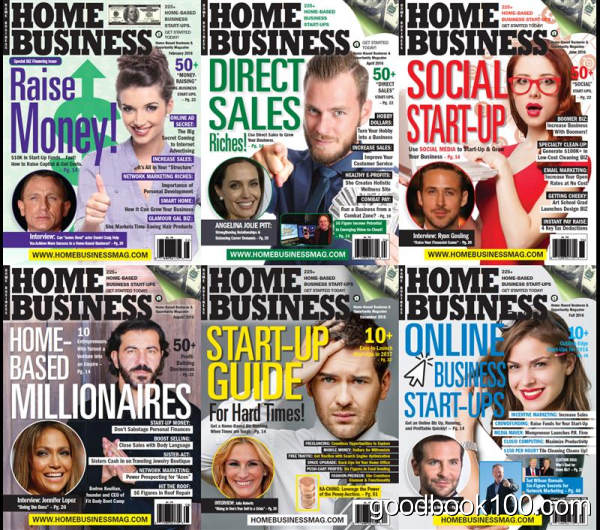 Home-business_2016年合集高清PDF杂志电子版百度盘下载
