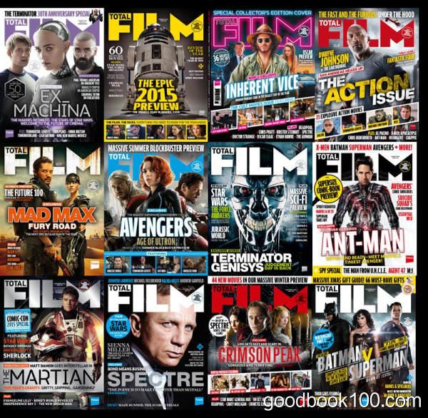 [年费VIP免费]Total Film_2015年合集高清PDF杂志电子版百度盘下载 共12本