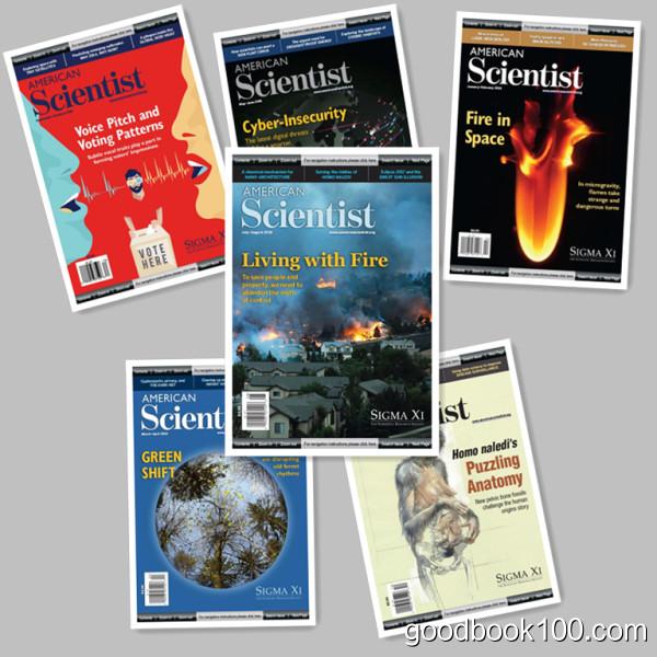 American Scientist_2016年合集共6本PDF杂志电子版百度盘下载